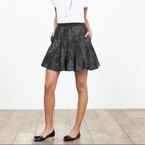 Banana Republic Jacquard fit and flare Skirt 8
